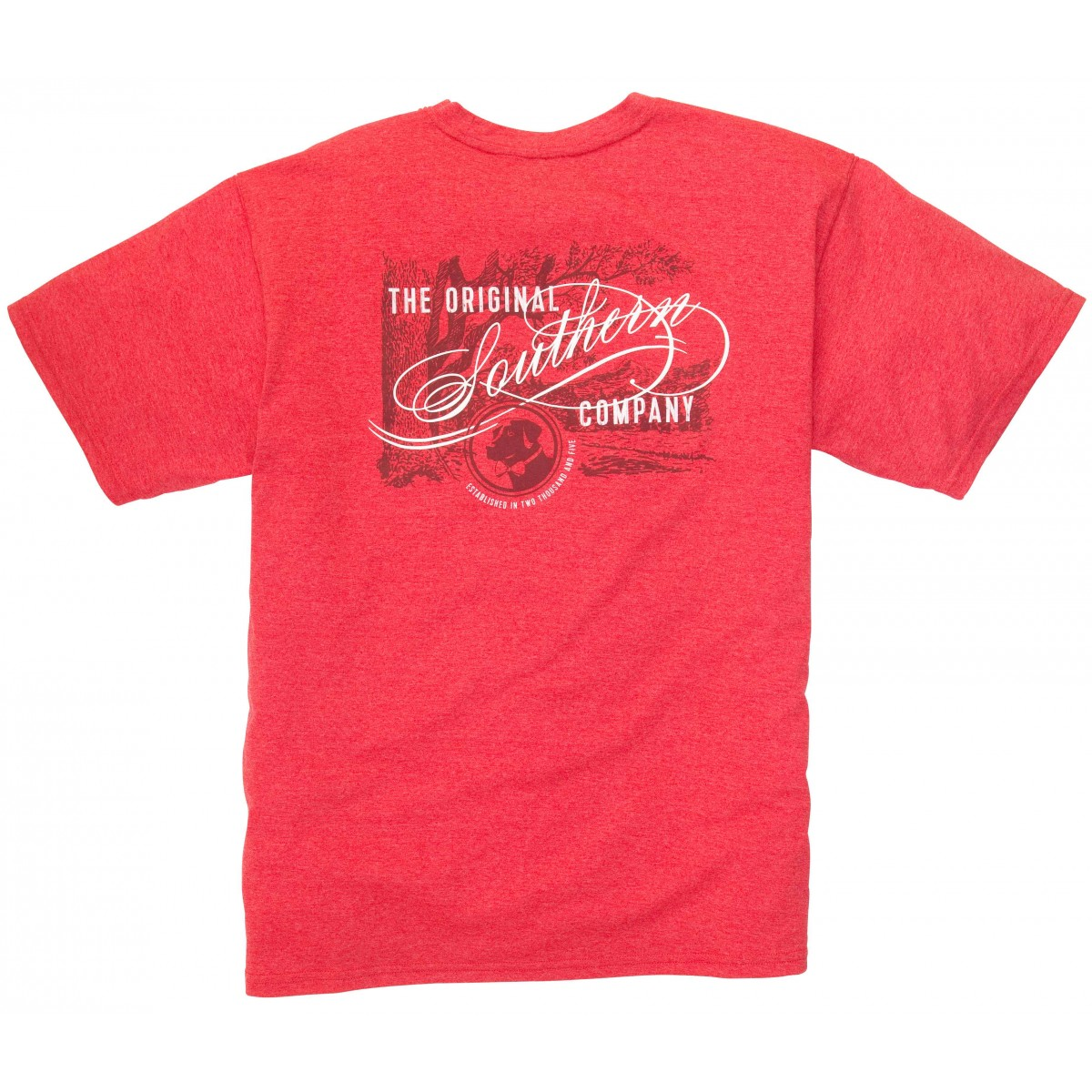 Original Southern Tee: Poinsettia Short Sleeve